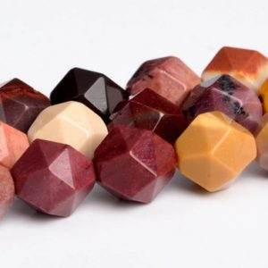 Shop Mookaite Beads! Mookaite Beads Star Cut Faceted Grade Aaa Genuine Natural Gemstone Loose Beads 5-6mm 7-8mm Bulk Lot Options | Natural genuine faceted Mookaite beads for beading and jewelry making.  #jewelry #beads #beadedjewelry #diyjewelry #jewelrymaking #beadstore #beading #affiliate #ad
