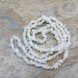 Shop Moonstone Chip & Nugget Beads! Rainbow Moonstone Chip Beads, 4 To 6 Mm Approx, 34 Inch Strand | Natural genuine chip Moonstone beads for beading and jewelry making.  #jewelry #beads #beadedjewelry #diyjewelry #jewelrymaking #beadstore #beading #affiliate #ad