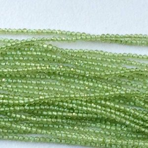 Shop Peridot Faceted Beads! Peridot Beads, Natural Peridot Faceted Rondelles, Tiny Beads, Peridot Necklace, 2mm, 13 Inch – Gsa57 | Natural genuine faceted Peridot beads for beading and jewelry making.  #jewelry #beads #beadedjewelry #diyjewelry #jewelrymaking #beadstore #beading #affiliate #ad