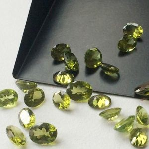 Shop Peridot Bead Shapes! 5x7mm Peridot Oval Cut Stone, 5 Pieces Natural Faceted Oval Full Cut Peridot, Loose Peridot Oval Gemstone, Peridot For Jewelry – Ang78 | Natural genuine other-shape Peridot beads for beading and jewelry making.  #jewelry #beads #beadedjewelry #diyjewelry #jewelrymaking #beadstore #beading #affiliate #ad