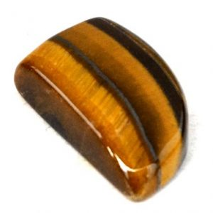 Shop Tiger Eye Cabochons! Tiger Eye Cabochon Stone (20mm X 12mm X 6mm) – Fancy Cabochon – Fang Stone | Natural genuine stones & crystals in various shapes & sizes. Buy raw cut, tumbled, or polished gemstones for making jewelry or crystal healing energy vibration raising reiki stones. #crystals #gemstones #crystalhealing #crystalsandgemstones #energyhealing #affiliate #ad