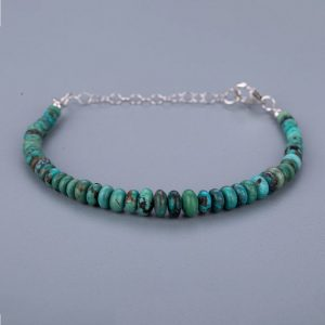 Shop Turquoise Bracelets! Bracelet Friendship gift anniversary birthday gift  Turquoise adjustable bracelet Beach bracelet gift for her. | Natural genuine Turquoise bracelets. Buy crystal jewelry, handmade handcrafted artisan jewelry for women.  Unique handmade gift ideas. #jewelry #beadedbracelets #beadedjewelry #gift #shopping #handmadejewelry #fashion #style #product #bracelets #affiliate #ad