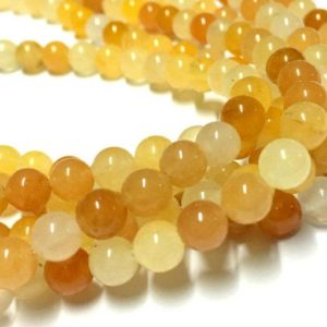 Shop Aragonite Beads! 4,6,8,10mm Aragonite Gemstone Beads – 15inch Full strand – Round Gemstone Beads | Natural genuine round Aragonite beads for beading and jewelry making.  #jewelry #beads #beadedjewelry #diyjewelry #jewelrymaking #beadstore #beading #affiliate #ad