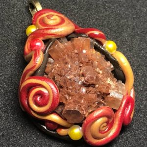Shop Aragonite Pendants! Aragonite Spirals Pendant | Natural genuine Aragonite pendants. Buy crystal jewelry, handmade handcrafted artisan jewelry for women.  Unique handmade gift ideas. #jewelry #beadedpendants #beadedjewelry #gift #shopping #handmadejewelry #fashion #style #product #pendants #affiliate #ad