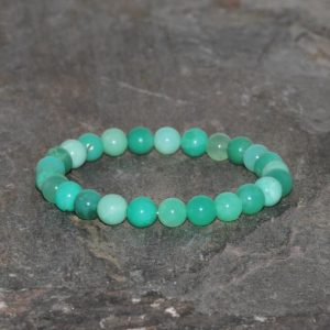 Shop Chrysoprase Bracelets! Chrysoprase Bracelet 7mm-7.5mm Grade AAA Natural Green Chrysoprase Beaded Gemstone Bracelet Stack Bracelet Unisex Bracelet Gift Bracelet | Natural genuine Chrysoprase bracelets. Buy crystal jewelry, handmade handcrafted artisan jewelry for women.  Unique handmade gift ideas. #jewelry #beadedbracelets #beadedjewelry #gift #shopping #handmadejewelry #fashion #style #product #bracelets #affiliate #ad