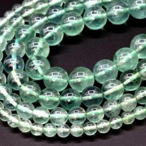 Shop Fluorite Beads! Green Fluorite Beads Grade AAA Genuine Natural Gemstone Round Loose Beads 6MM 8MM 10MM 12MM Bulk Lot Options | Natural genuine beads Fluorite beads for beading and jewelry making.  #jewelry #beads #beadedjewelry #diyjewelry #jewelrymaking #beadstore #beading #affiliate #ad