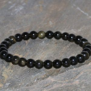 Shop Golden Obsidian Bracelets! Gold Sheen Obsidian Bracelet Handmade 6mm Grade AAA Gold Sheen Obsidian Gemstone Bracelet Golden Sheen Obsidian Stack Bracelet Gift Bracelet | Natural genuine Golden Obsidian bracelets. Buy crystal jewelry, handmade handcrafted artisan jewelry for women.  Unique handmade gift ideas. #jewelry #beadedbracelets #beadedjewelry #gift #shopping #handmadejewelry #fashion #style #product #bracelets #affiliate #ad