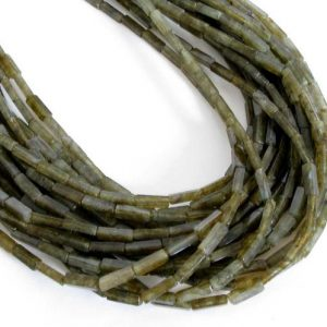 Shop Labradorite Bead Shapes! 13mm Square Tube Labradorite Beads, Genuine Gemstone Beads, Square Tube Beads, 8 Inch Strand Labradorite Beads, Lab203 | Natural genuine other-shape Labradorite beads for beading and jewelry making.  #jewelry #beads #beadedjewelry #diyjewelry #jewelrymaking #beadstore #beading #affiliate #ad