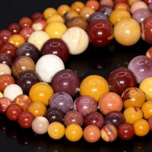Mookaite Beads Grade AAA Genuine Natural China Gemstone Round Loose Beads 4MM 6-7MM 8MM 10MM Bulk Lot Options | Natural genuine round Mookaite beads for beading and jewelry making.  #jewelry #beads #beadedjewelry #diyjewelry #jewelrymaking #beadstore #beading #affiliate #ad