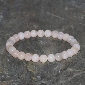 Shop Morganite Bracelets! Morganite Bracelet Handmade 6mm Madagascar Morganite Gemstone Bracelet Stacking Bracelet Beaded Gift Bracelet Anxiety Bracelet Pink Bracelet | Natural genuine Morganite bracelets. Buy crystal jewelry, handmade handcrafted artisan jewelry for women.  Unique handmade gift ideas. #jewelry #beadedbracelets #beadedjewelry #gift #shopping #handmadejewelry #fashion #style #product #bracelets #affiliate #ad