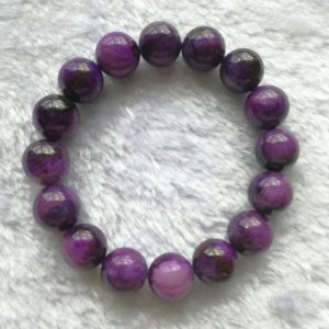 Shop Sugilite Bracelets! Natural Sugilite Beaded Bracelet, Royal Purple Ageing Sugilite Gemstone Round Beads, Royal Lazelle Sugilite Bracelet, Handmade Jewelry | Natural genuine Sugilite bracelets. Buy crystal jewelry, handmade handcrafted artisan jewelry for women.  Unique handmade gift ideas. #jewelry #beadedbracelets #beadedjewelry #gift #shopping #handmadejewelry #fashion #style #product #bracelets #affiliate #ad