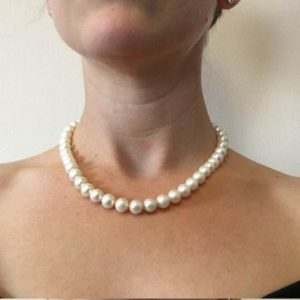 Shop Pearl Jewelry! Wedding Freshwater Pearl Necklace-wedding Jewelry-bridal Jewelry-anniversary Gift-birthday Present-mothers Necklace-mothers Jewelry-for Her | Natural genuine Pearl jewelry. Buy handcrafted artisan wedding jewelry.  Unique handmade bridal jewelry gift ideas. #jewelry #beadedjewelry #gift #crystaljewelry #shopping #handmadejewelry #wedding #bridal #jewelry #affiliate #ad