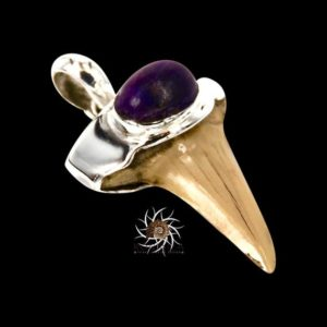 Shark Tooth Pendant With Sugilite – Tribal Jewelry – Shark Tooth Jewelry – Shark Tooth Necklace – Sugilite Jewelry – Native Jewelry | Natural genuine Sugilite pendants. Buy crystal jewelry, handmade handcrafted artisan jewelry for women.  Unique handmade gift ideas. #jewelry #beadedpendants #beadedjewelry #gift #shopping #handmadejewelry #fashion #style #product #pendants #affiliate #ad