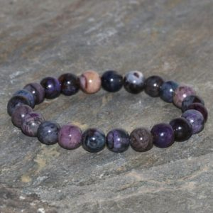 Shop Sugilite Jewelry! Sugilite Bracelet Stacking Grade AA 7.5-8mm Natural South Africa Sugilite Bracelet Exquisite Purple Sugilite Gift Bracelet Unisex Bracelet | Natural genuine Sugilite jewelry. Buy crystal jewelry, handmade handcrafted artisan jewelry for women.  Unique handmade gift ideas. #jewelry #beadedjewelry #beadedjewelry #gift #shopping #handmadejewelry #fashion #style #product #jewelry #affiliate #ad