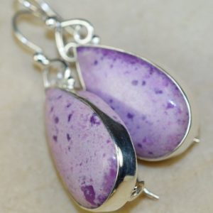 Shop Sugilite Earrings! Sugilite Earrings for heavenly meditation, reflection, cellular-level rest. | Natural genuine Sugilite earrings. Buy crystal jewelry, handmade handcrafted artisan jewelry for women.  Unique handmade gift ideas. #jewelry #beadedearrings #beadedjewelry #gift #shopping #handmadejewelry #fashion #style #product #earrings #affiliate #ad
