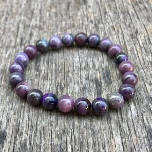 Shop Sugilite Jewelry! Sugilite Gemstone Beaded Bracelet High Grade 8mm Natural Sugilite Bracelet Purple Tone Sugilite Unisex Bracelet Stack Bracelet Gift Bracelet | Natural genuine Sugilite jewelry. Buy crystal jewelry, handmade handcrafted artisan jewelry for women.  Unique handmade gift ideas. #jewelry #beadedjewelry #beadedjewelry #gift #shopping #handmadejewelry #fashion #style #product #jewelry #affiliate #ad