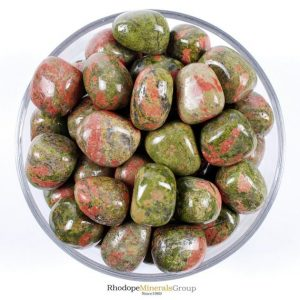 Shop Tumbled Unakite Crystals & Pocket Stones! One 1 Unakite Tumbled Stone, Unakite Tumbled Stone, Unakite Tumbled Stones, Healing Unakite Tumbled Stones, Healing Stones, Rhodopeminerals | Natural genuine stones & crystals in various shapes & sizes. Buy raw cut, tumbled, or polished gemstones for making jewelry or crystal healing energy vibration raising reiki stones. #crystals #gemstones #crystalhealing #crystalsandgemstones #energyhealing #affiliate #ad