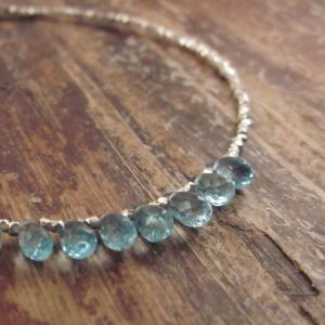 Blue Apatite Bracelet Apatite Bracelets Beaded Bracelets Something Blue Gift For Bride Gemstone Jewelry Bead Bracelet Womens Gift For Women | Natural genuine Apatite bracelets. Buy crystal jewelry, handmade handcrafted artisan jewelry for women.  Unique handmade gift ideas. #jewelry #beadedbracelets #beadedjewelry #gift #shopping #handmadejewelry #fashion #style #product #bracelets #affiliate #ad
