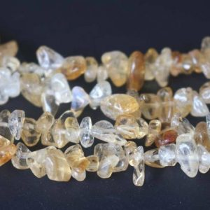 Shop Citrine Chip & Nugget Beads! Natural Citrine Quartz Chip Beads, Chips Beads Supply, 32 Inches One Starand | Natural genuine chip Citrine beads for beading and jewelry making.  #jewelry #beads #beadedjewelry #diyjewelry #jewelrymaking #beadstore #beading #affiliate #ad