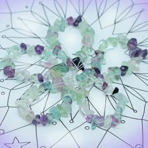 Shop Fluorite Beads! Rainbow Fluorite Chip Beads Wonderful Colours 6-10mm Approx 25 Drilled Beads. | Natural genuine beads Fluorite beads for beading and jewelry making.  #jewelry #beads #beadedjewelry #diyjewelry #jewelrymaking #beadstore #beading #affiliate #ad