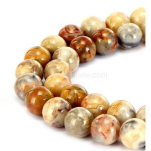 Shop Crazy Lace Agate Beads! You Pick Top Quality Natural Crazy Lace Jasper Gemstone 4mm 6mm 8mm 10mm Round Loose Beads 15 inch Per Strand for Jewelry Craft Making GF23 | Natural genuine beads Agate beads for beading and jewelry making.  #jewelry #beads #beadedjewelry #diyjewelry #jewelrymaking #beadstore #beading #affiliate #ad