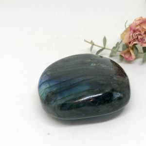 Shop Labradorite Shapes! Labradorite Palm Stone – The Stone for Protection and Intuition | Natural genuine stones & crystals in various shapes & sizes. Buy raw cut, tumbled, or polished gemstones for making jewelry or crystal healing energy vibration raising reiki stones. #crystals #gemstones #crystalhealing #crystalsandgemstones #energyhealing #affiliate #ad
