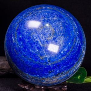 "Shop Lapis Lazuli Stones & Crystals! 4.44""Natural High Grade Lapis Lazuli Sphere/Lazuli Ball/Lazuli Decoration/Energy Stone Ornaments/Healing stone/Lazuli Sphere-113mm 2261g 