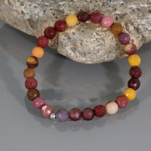 Shop Mookaite Bracelets! MOOKAITE JASPER Bead Bracelet, Mookaite Jewelry, Mookaite Bracelet, Multi Color Mookaite Stretch Bracelet, Mookite jasper bracelet for women | Natural genuine Mookaite bracelets. Buy crystal jewelry, handmade handcrafted artisan jewelry for women.  Unique handmade gift ideas. #jewelry #beadedbracelets #beadedjewelry #gift #shopping #handmadejewelry #fashion #style #product #bracelets #affiliate #ad