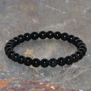 Shop Obsidian Bracelets! 6mm Black Obsidian Stacking Bracelet, Stress Relief, Healing Crystals, Root Chakra, Yoga Jewelry, Dragonglass Protection-Emotional Stability | Natural genuine Obsidian bracelets. Buy crystal jewelry, handmade handcrafted artisan jewelry for women.  Unique handmade gift ideas. #jewelry #beadedbracelets #beadedjewelry #gift #shopping #handmadejewelry #fashion #style #product #bracelets #affiliate #ad