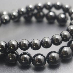 Shop Onyx Round Beads! Natural Black Onyx Beads,4mm/6mm/8mm/10mm/12mm Natural Smooth and Round  Beads,15 inches one starand | Natural genuine round Onyx beads for beading and jewelry making.  #jewelry #beads #beadedjewelry #diyjewelry #jewelrymaking #beadstore #beading #affiliate #ad