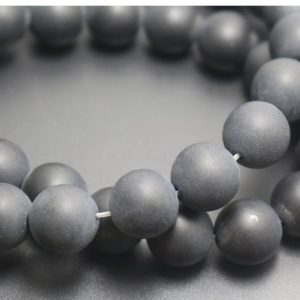 Shop Onyx Round Beads! Natural Matte Black Onyx Beads Supply,4mm/6mm/8mm/10mm/12mm Natural Smooth and Round  Beads,15 inches one starand | Natural genuine round Onyx beads for beading and jewelry making.  #jewelry #beads #beadedjewelry #diyjewelry #jewelrymaking #beadstore #beading #affiliate #ad