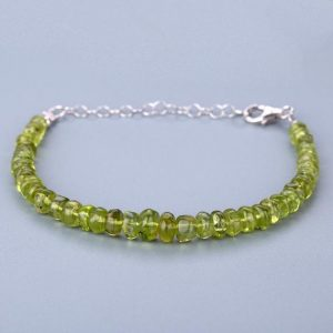 Shop Peridot Bracelets! Peridot BRACELET gift for girls birthday gift anniversary gift gemstone bracelet beads bracelet. | Natural genuine Peridot bracelets. Buy crystal jewelry, handmade handcrafted artisan jewelry for women.  Unique handmade gift ideas. #jewelry #beadedbracelets #beadedjewelry #gift #shopping #handmadejewelry #fashion #style #product #bracelets #affiliate #ad