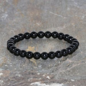 Shop Spinel Bracelets! 6mm Black Spinel Bracelet, Black Spinel Stacking Bracelet, Spinel Gemstone Bracelet, Mens Bracelet, Womens Yoga Mala Beads, Spinel Jewelry | Natural genuine Spinel bracelets. Buy handcrafted artisan men's jewelry, gifts for men.  Unique handmade mens fashion accessories. #jewelry #beadedbracelets #beadedjewelry #shopping #gift #handmadejewelry #bracelets #affiliate #ad