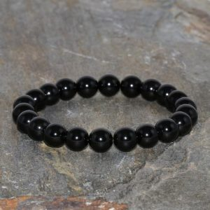 Shop Spinel Bracelets! Black Spinel Bracelet 8mm Black Spinel Stretch Bracelet Spinel Gemstone Bracelet Unisex Bracelet Yoga Mala Beads Spinel Jewelry Grade AAA | Natural genuine Spinel bracelets. Buy crystal jewelry, handmade handcrafted artisan jewelry for women.  Unique handmade gift ideas. #jewelry #beadedbracelets #beadedjewelry #gift #shopping #handmadejewelry #fashion #style #product #bracelets #affiliate #ad