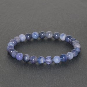 Shop Tanzanite Bracelets! Dainty Tanzanite Beaded Bracelet Handmade 6mm Gemstone Bracelet Natural Purple & Violet Tanzanite Bracelet Positivity Bracelet Rare Tanzania | Natural genuine Tanzanite bracelets. Buy crystal jewelry, handmade handcrafted artisan jewelry for women.  Unique handmade gift ideas. #jewelry #beadedbracelets #beadedjewelry #gift #shopping #handmadejewelry #fashion #style #product #bracelets #affiliate #ad