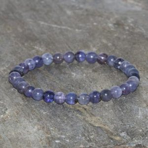 Shop Tanzanite Bracelets! Dainty Tanzanite Beaded Bracelet Handmade 5mm Tanzanite Gemstone Bracelet Natural Purple And Violet Tanzanite Bracelet Positivity Bracelet | Natural genuine Tanzanite bracelets. Buy crystal jewelry, handmade handcrafted artisan jewelry for women.  Unique handmade gift ideas. #jewelry #beadedbracelets #beadedjewelry #gift #shopping #handmadejewelry #fashion #style #product #bracelets #affiliate #ad
