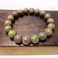 Natural Unakite Bracelet Fertility Bracelet Third Eye Chakra Bracelet Unakite Scorpio Bracelet Grounding Unakite Bracelet Unakite Meditation | Natural genuine Gemstone jewelry. Buy crystal jewelry, handmade handcrafted artisan jewelry for women.  Unique handmade gift ideas. #jewelry #beadedjewelry #beadedjewelry #gift #shopping #handmadejewelry #fashion #style #product #jewelry #affiliate #ad