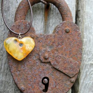 Shop Amber Jewelry! Rustic Amber Heart Necklace Hand Sculpted Pendant Yellow Orange Butterscotch Amber Charm Romantic Natural Mother's day Gift | Natural genuine Amber jewelry. Buy crystal jewelry, handmade handcrafted artisan jewelry for women.  Unique handmade gift ideas. #jewelry #beadedjewelry #beadedjewelry #gift #shopping #handmadejewelry #fashion #style #product #jewelry #affiliate #ad