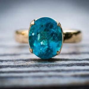 Shop Apatite Rings! Blue Apatite 14k Yellow Gold Ring Size 7.5 ring – Gorgeous Blue Apatite Ring Size 7.5 – Blue Apatite Yellow Gold Blue Apatite ring size 7.5 | Natural genuine Apatite rings, simple unique handcrafted gemstone rings. #rings #jewelry #shopping #gift #handmade #fashion #style #affiliate #ad
