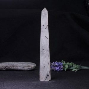 Shop Black Tourmaline Points & Wands! Rare Natural Extra Large Black Rutilated Quartz Tower/Black Tourmaline Point/Rutilated Crystal Collection/Crystal Gift-30*45*320mm 575g#1798 | Natural genuine stones & crystals in various shapes & sizes. Buy raw cut, tumbled, or polished gemstones for making jewelry or crystal healing energy vibration raising reiki stones. #crystals #gemstones #crystalhealing #crystalsandgemstones #energyhealing #affiliate #ad