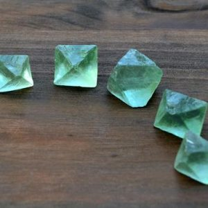 Shop Raw & Rough Fluorite Stones! 1 Green Fluorite Octahedron – Raw Fluorite Crystal – Rough Gemstone – Metaphysical Chakra Stones | Natural genuine stones & crystals in various shapes & sizes. Buy raw cut, tumbled, or polished gemstones for making jewelry or crystal healing energy vibration raising reiki stones. #crystals #gemstones #crystalhealing #crystalsandgemstones #energyhealing #affiliate #ad
