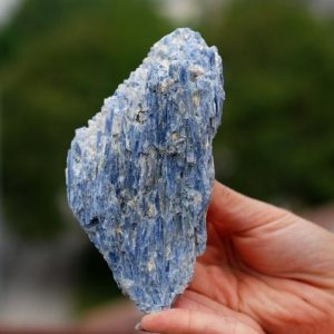 Shop Raw & Rough Kyanite Stones! LARGE Blue Kyanite Crystal, Blue Kyanite crystals, Large Kyanite Specimens, Huge Kyanite Crystals, Large Kyanite Crystals, Kyanite Crystal 4 | Natural genuine stones & crystals in various shapes & sizes. Buy raw cut, tumbled, or polished gemstones for making jewelry or crystal healing energy vibration raising reiki stones. #crystals #gemstones #crystalhealing #crystalsandgemstones #energyhealing #affiliate #ad