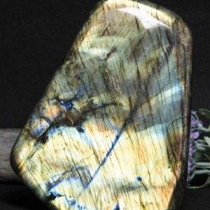Shop Labradorite Shapes! Large Rainbow Sheen Labradorite Polished Decoration/Blue/Yellow Labradorite Polished Stone/Display/Special Gift/Healing Stone-1837g | Natural genuine stones & crystals in various shapes & sizes. Buy raw cut, tumbled, or polished gemstones for making jewelry or crystal healing energy vibration raising reiki stones. #crystals #gemstones #crystalhealing #crystalsandgemstones #energyhealing #affiliate #ad