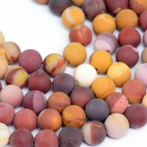 Shop Mookaite Beads! Matte Mookaite Beads Grade Aaa Genuine Natural Gemstone Round Loose Beads 4 / 6 / 8 / 15mm Bulk Lot Options | Natural genuine round Mookaite beads for beading and jewelry making.  #jewelry #beads #beadedjewelry #diyjewelry #jewelrymaking #beadstore #beading #affiliate #ad