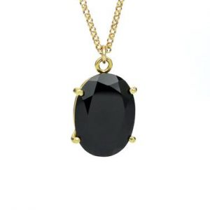 Black onyx pendant,onyx necklace,gold necklace,prong necklace,prong pendant,long necklace,gold pendant | Natural genuine Onyx pendants. Buy crystal jewelry, handmade handcrafted artisan jewelry for women.  Unique handmade gift ideas. #jewelry #beadedpendants #beadedjewelry #gift #shopping #handmadejewelry #fashion #style #product #pendants #affiliate #ad