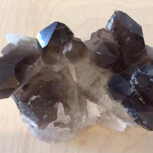 Smoky Quartz Crystal Cluster, Healing Crystals, Healing Stones, Spiritual Stone, Gemstone | Natural genuine stones & crystals in various shapes & sizes. Buy raw cut, tumbled, or polished gemstones for making jewelry or crystal healing energy vibration raising reiki stones. #crystals #gemstones #crystalhealing #crystalsandgemstones #energyhealing #affiliate #ad