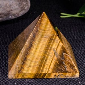 Natural Tiger Eye Pyramid / crystal Pyramid / decoration / energy Stone Ornaments / healing Stone / meditation / chakra / reiki / -65*53 Mm-235g#5126 | Natural genuine stones & crystals in various shapes & sizes. Buy raw cut, tumbled, or polished gemstones for making jewelry or crystal healing energy vibration raising reiki stones. #crystals #gemstones #crystalhealing #crystalsandgemstones #energyhealing #affiliate #ad