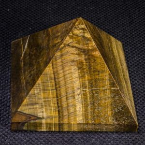 Natural Tiger Eye Pyramid / crystal Pyramid / decoration / energy Stone Ornaments / healing Stone / meditation / chakra / reiki / -75*57 Mm-352g#5122 | Natural genuine stones & crystals in various shapes & sizes. Buy raw cut, tumbled, or polished gemstones for making jewelry or crystal healing energy vibration raising reiki stones. #crystals #gemstones #crystalhealing #crystalsandgemstones #energyhealing #affiliate #ad