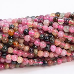 "Shop Tourmaline Round Beads! 2mm Multicolor Tourmaline Beads Grade Aa Genuine Natural Gemstone Full Strand Round Loose Beads 15"" Bulk Lot Options (110677-3216) 