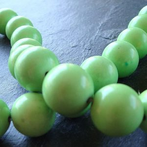 Shop Turquoise Round Beads! Turquoise Beads 10mm Natural Apple Green Smooth Rounds – 8 Pieces | Natural genuine round Turquoise beads for beading and jewelry making.  #jewelry #beads #beadedjewelry #diyjewelry #jewelrymaking #beadstore #beading #affiliate #ad